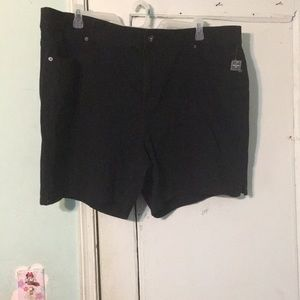 Pants - Nwt size 24w terra and sky black shorts